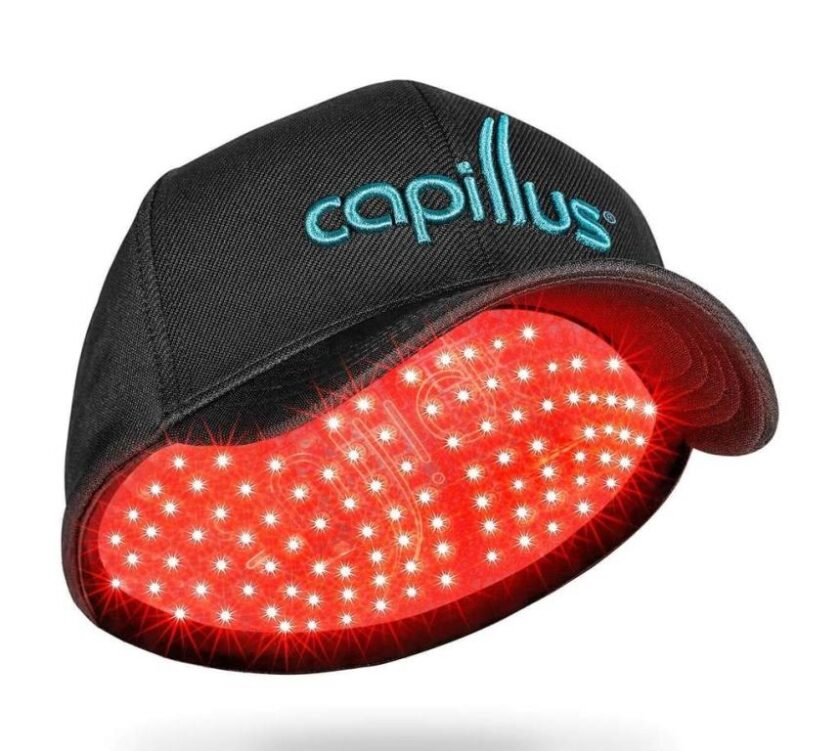 CapillusRX 312 Diode Mobile Laser Therapy Cap for Hair Regrowth - NEW 6 Minute Flexible-Fitting Model - FDA-Cleared for Medical Treatment of Androgenetic Alopecia - Great Coverage